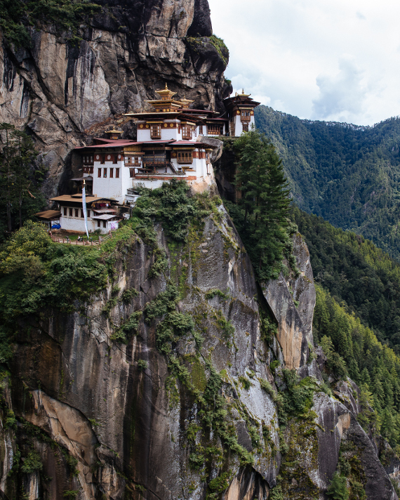 HANAH Ventures will take you to the Tiger's Nest in Bhutan on day 9 of the trip
